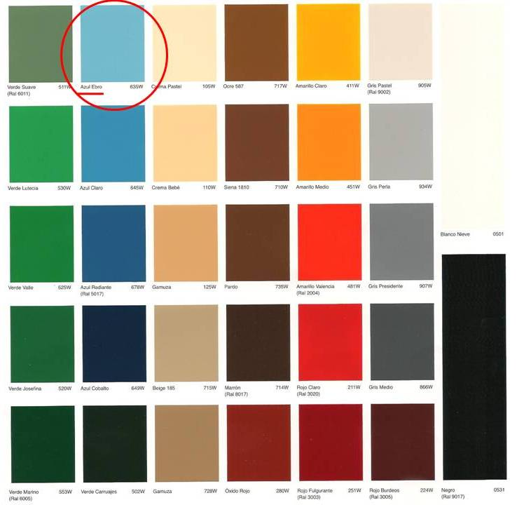 Tractores antiguos colores - Nombres de colores de pinturas ...