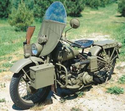 1942 harley davidson wla and