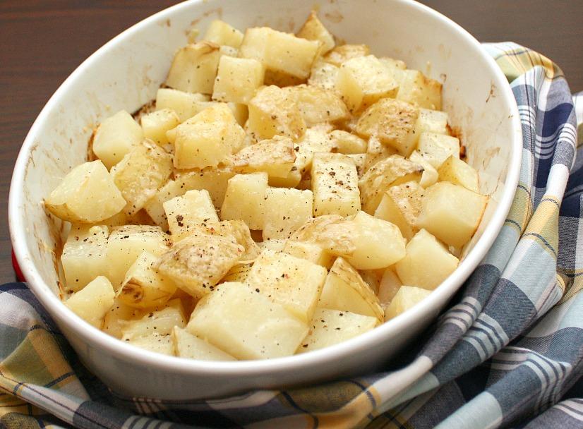 how to make lemon roasted potatoes