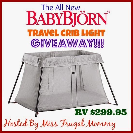 BABYBJÖRN Travel Crib Light Giveaway