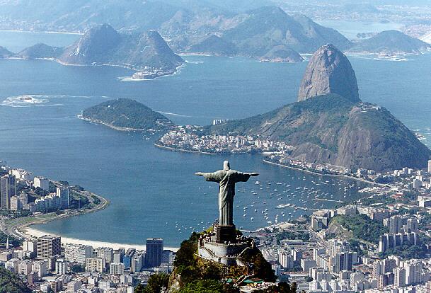 Cristo de Corcovado en Rio de Janeiro