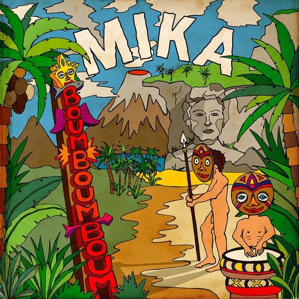 MIKA - Boum Boum Boum - Single Cover