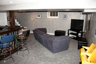 Hockey Haven The Do It Yourself Basement Remodel