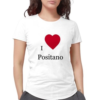 """I LOVE POSITANO""  T-SHIRT"