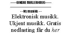 Musikk på Soundcloud