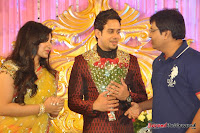 Celebraties at Actor Bharat n Jessy Wedding Reception Photos+%252854%2529 Actor Bharath n Jessy Wedding Photos