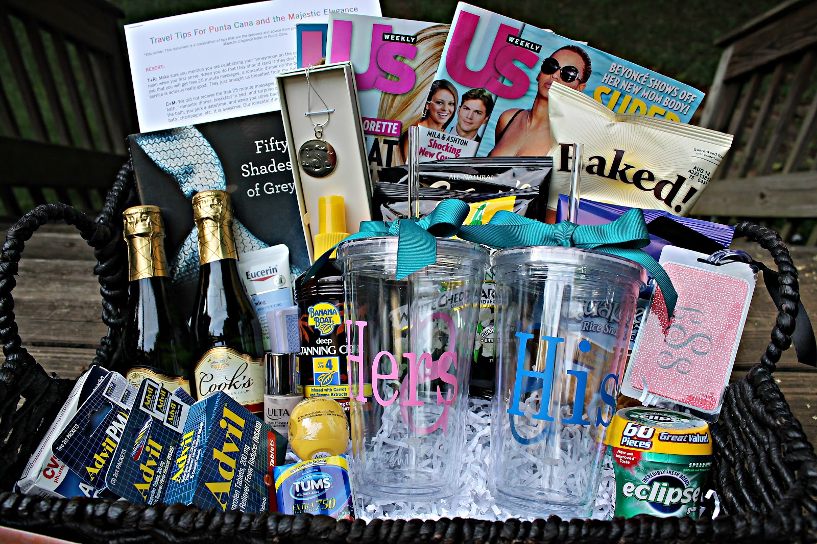 gift basket idea: