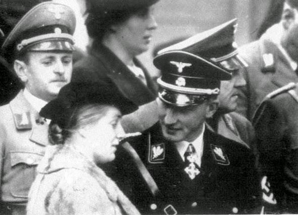 Reinhard Heydrich Funeral Lina Heydrich Britanni...