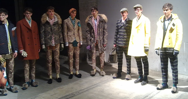Pitti Uomo 83 - Andrea Pompilio Fall Winter 2013/2014
