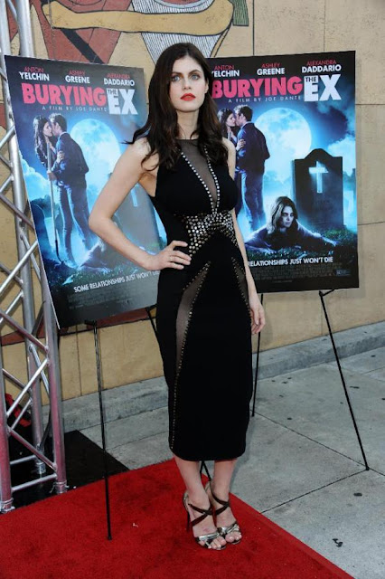 Actress @ Alexandra Daddario - 'Burying The Ex' Premiere in Hollywood