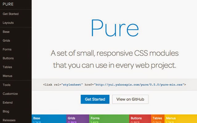 Pure - CSS Tools