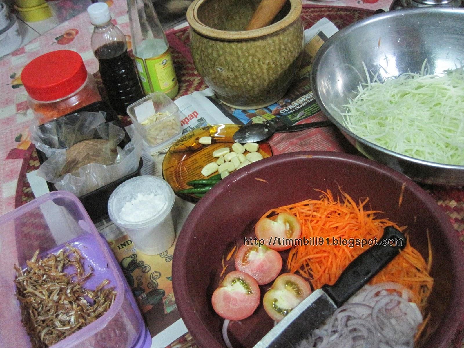 som tam, makanan thailand