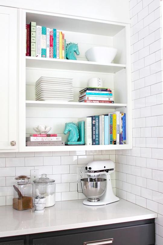 Wandplank Voor Keuken : Keuken Kookboeken in je keuken – Wonen, Maken & Leven