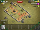Clash Of Clans Gameplay Battle