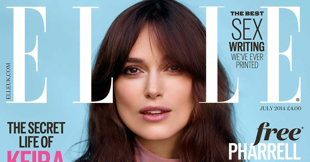 Edge Of The Plank: Keira Knightley covers ELLE Magazine ...