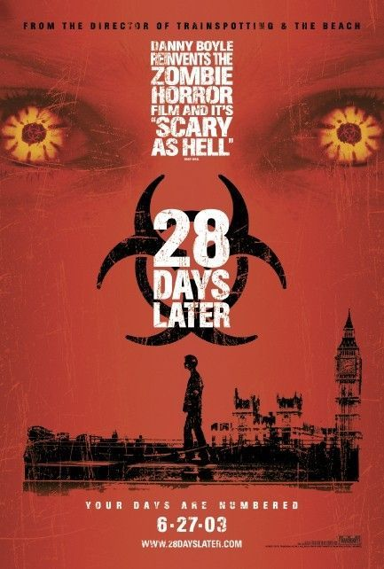 Twenty Eight Days Later movie poster