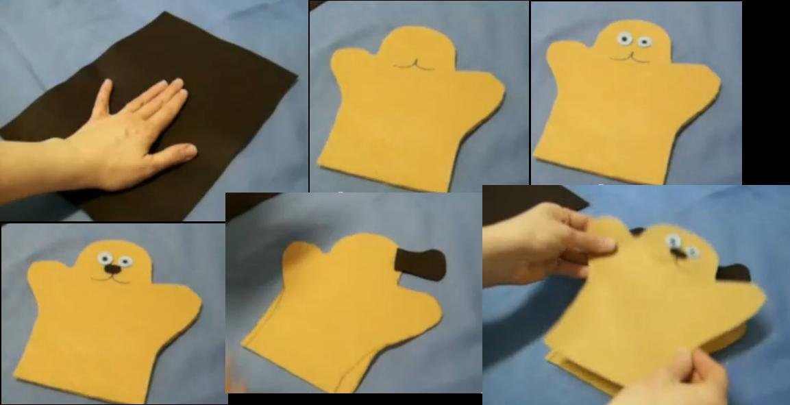 Como hacer t teres f ciles - Como hacer marionetas de mano ...