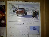 Featured in Tata Motors 2013 International Calender