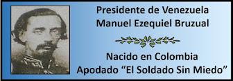 Fotos del Presidente Venezolano Manuel Ezequiel Bruzual