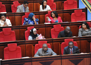 MPs cast verbal votes to pass budget