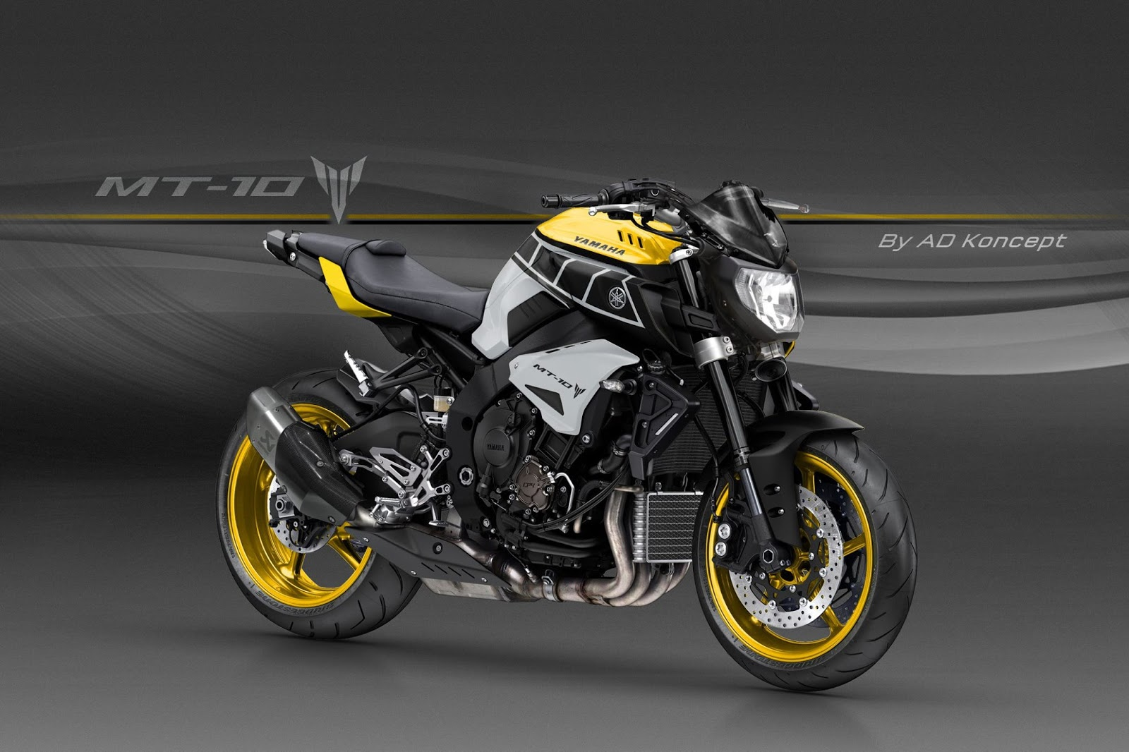 Motorcycle modification design corner yamaha mt 10 by for Bj custom designs