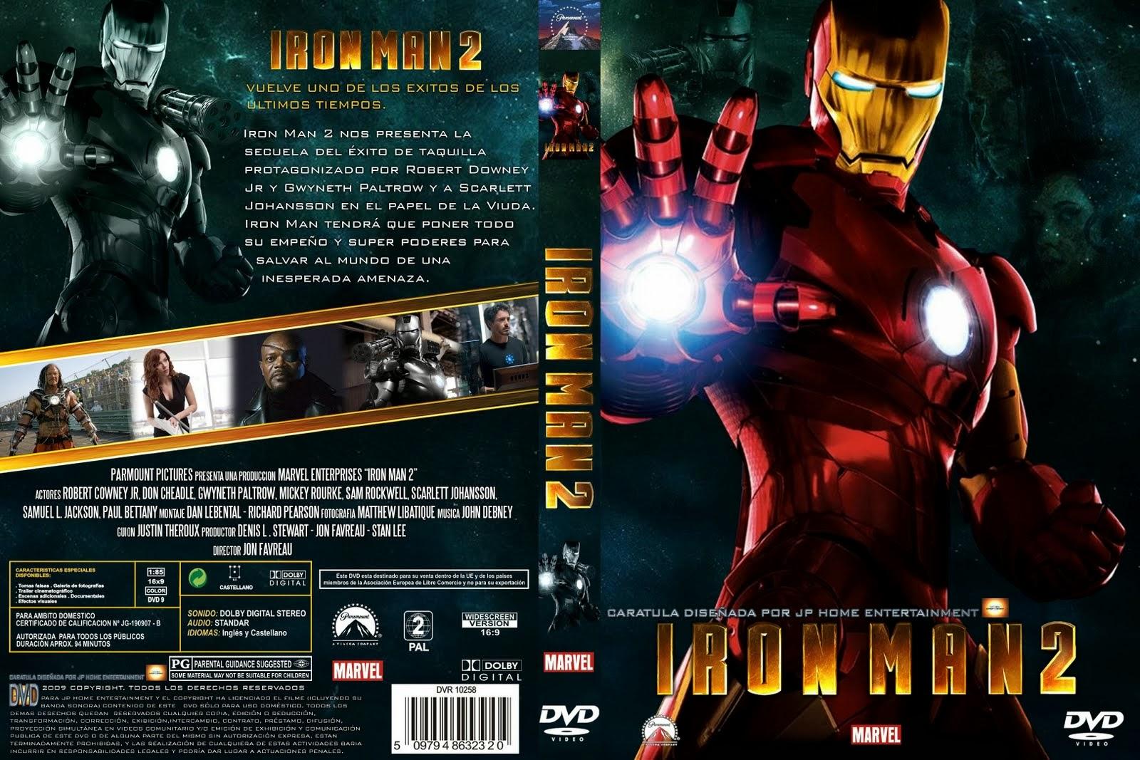 Iron Man 2 Hdrip Castellano 2010