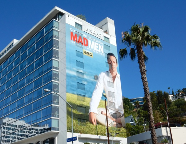 Giant Mad Men Emmy 2015 billboard