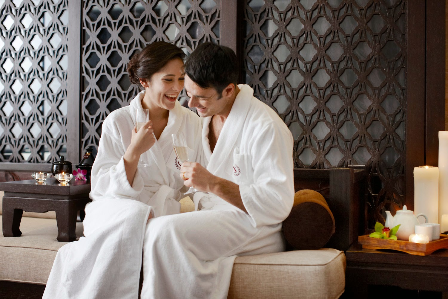 The westin mumbai garden city warm up your love with for Best spa for couples
