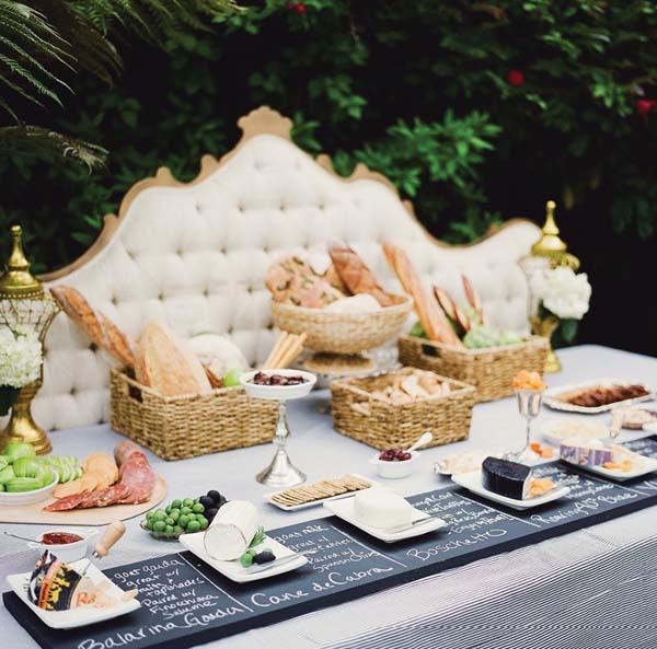 mesa de quesos de degustacion