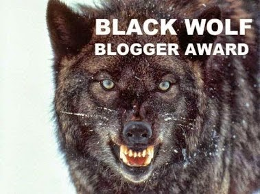 Mención Black Wolf Blogger Award