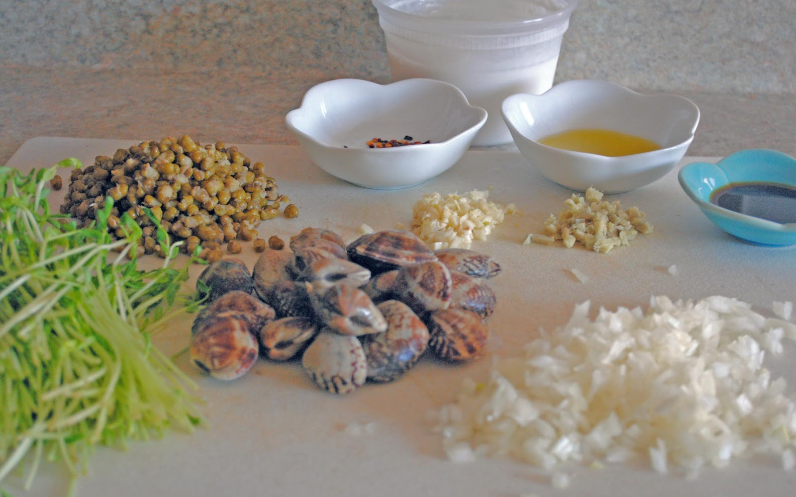 Food Is The Spice Of Life Mung Beans With Clams In