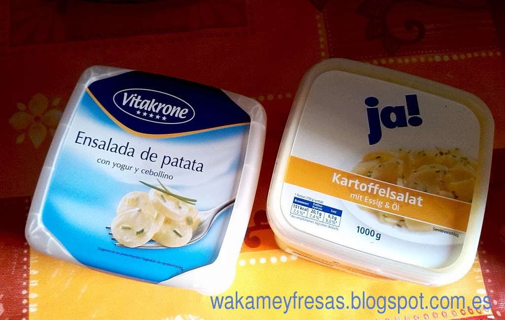 kartoffelsalat o ensalada de patata