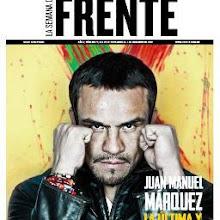 Artículo de portada para FrenteMX