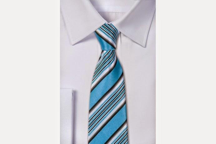 Krawat w paski - pewienpan.pl