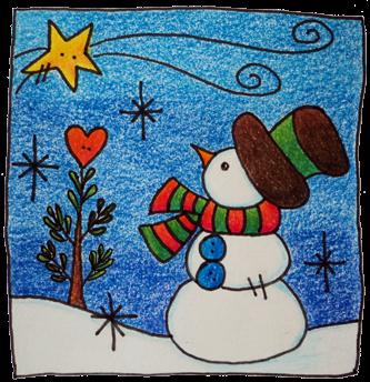 Volver al cole kaizen educacrossa christmas para esta - Postales navidad faciles de hacer ...