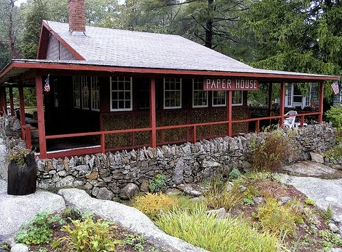 Rv Short Stops Historic Paper House Just North Of Boston
