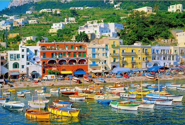 Италия  Капри