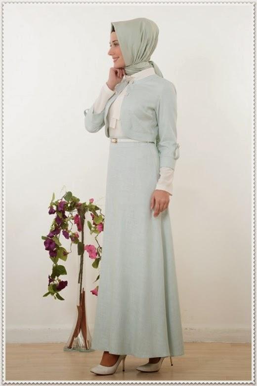 İpekdal 2014 Tesettür Elbise ve Takımlar