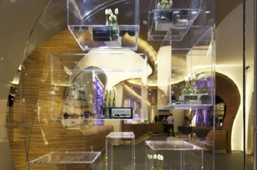 Modern Fashion Store Design of Hofstede Optiek<