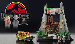 Jurassic World sparks Jurassic Park Lego sets 2015