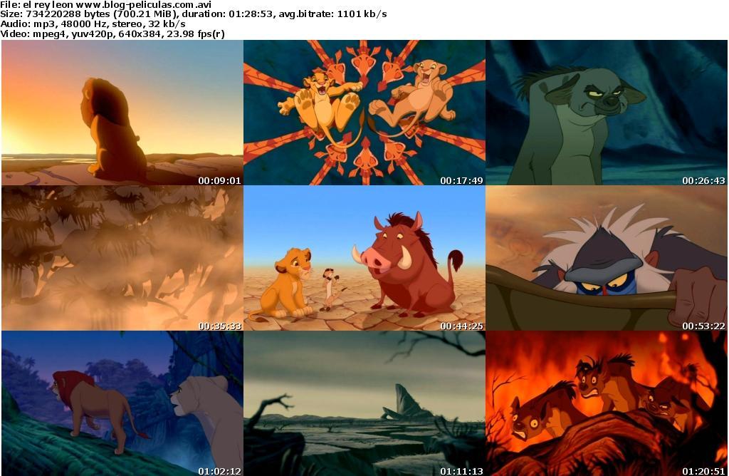 el rey leon 2 pelicula completa en español latino descargar