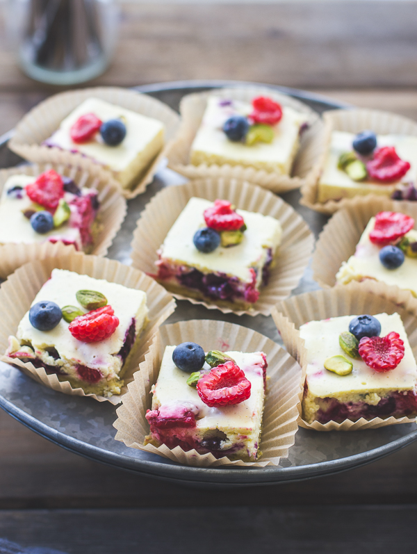 The Bojon Gourmet: Berry Chèvre Cheesecake Squares with ...