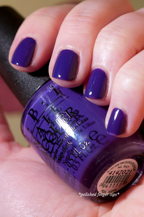 Do You Have this Colour in Stockholm - by OPI - artificial light