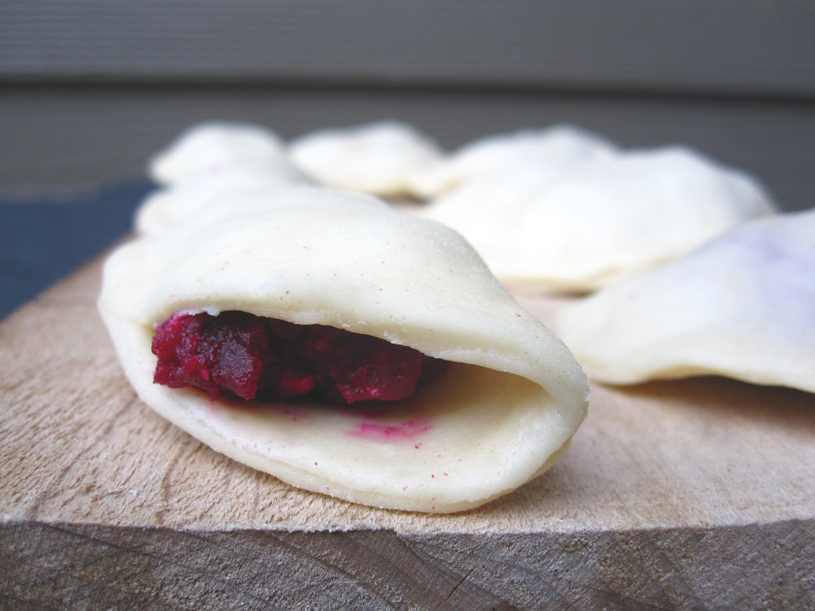 recipe: beet pierogies [30]