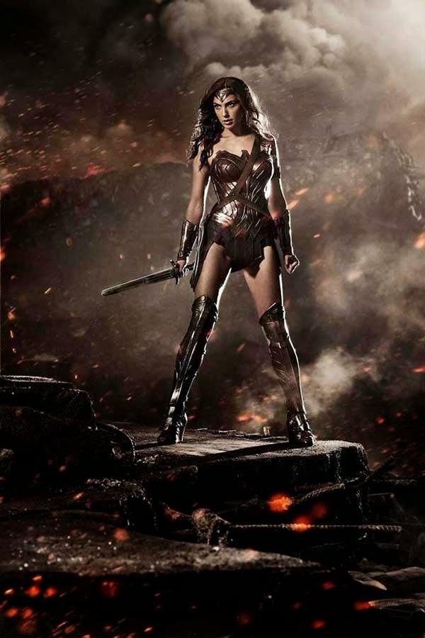 Wonder Woman in 'Batman v. Superman' film