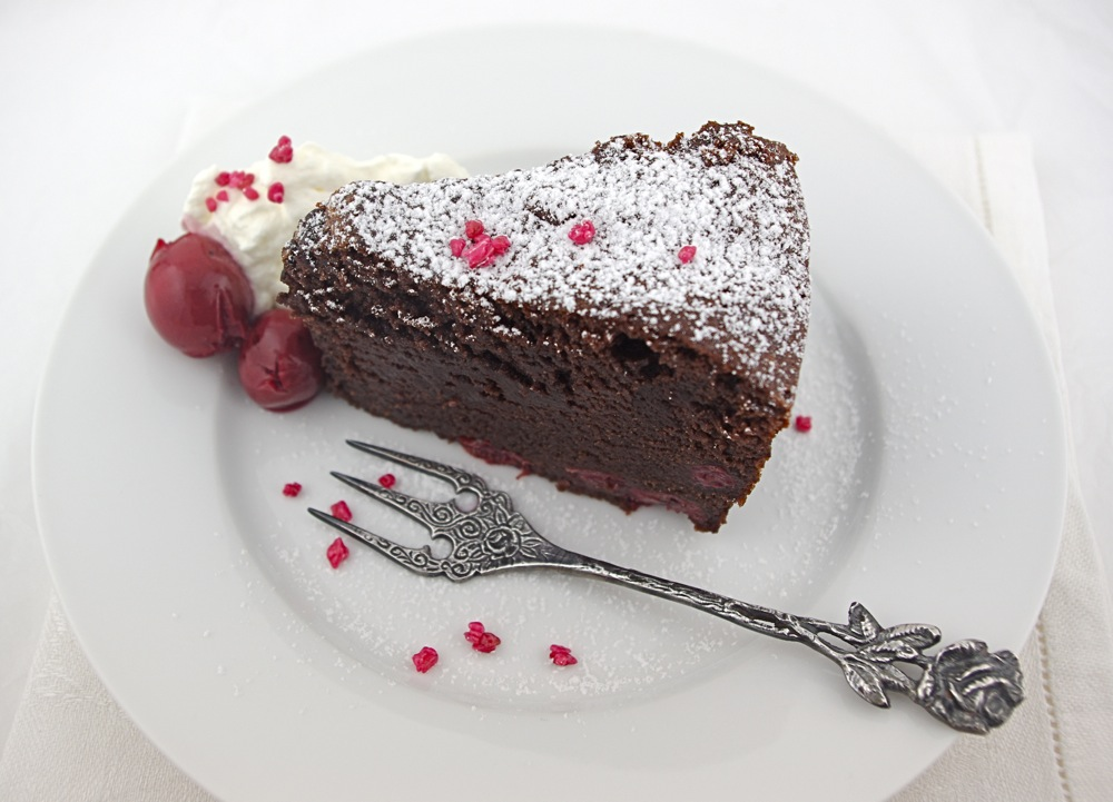 Destination Dessert: Chocolate Cherry Pound Cake with Mascarpone ...