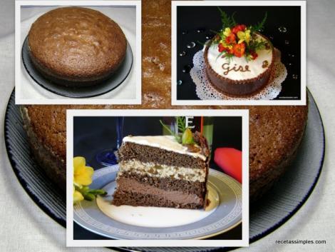 deliciosa torta de chocolate que podras preparar tu misma