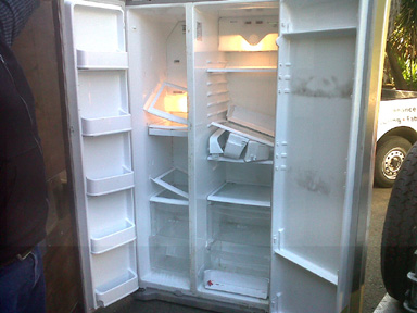 LG+Side-by-side+refrigerator+fully+funct