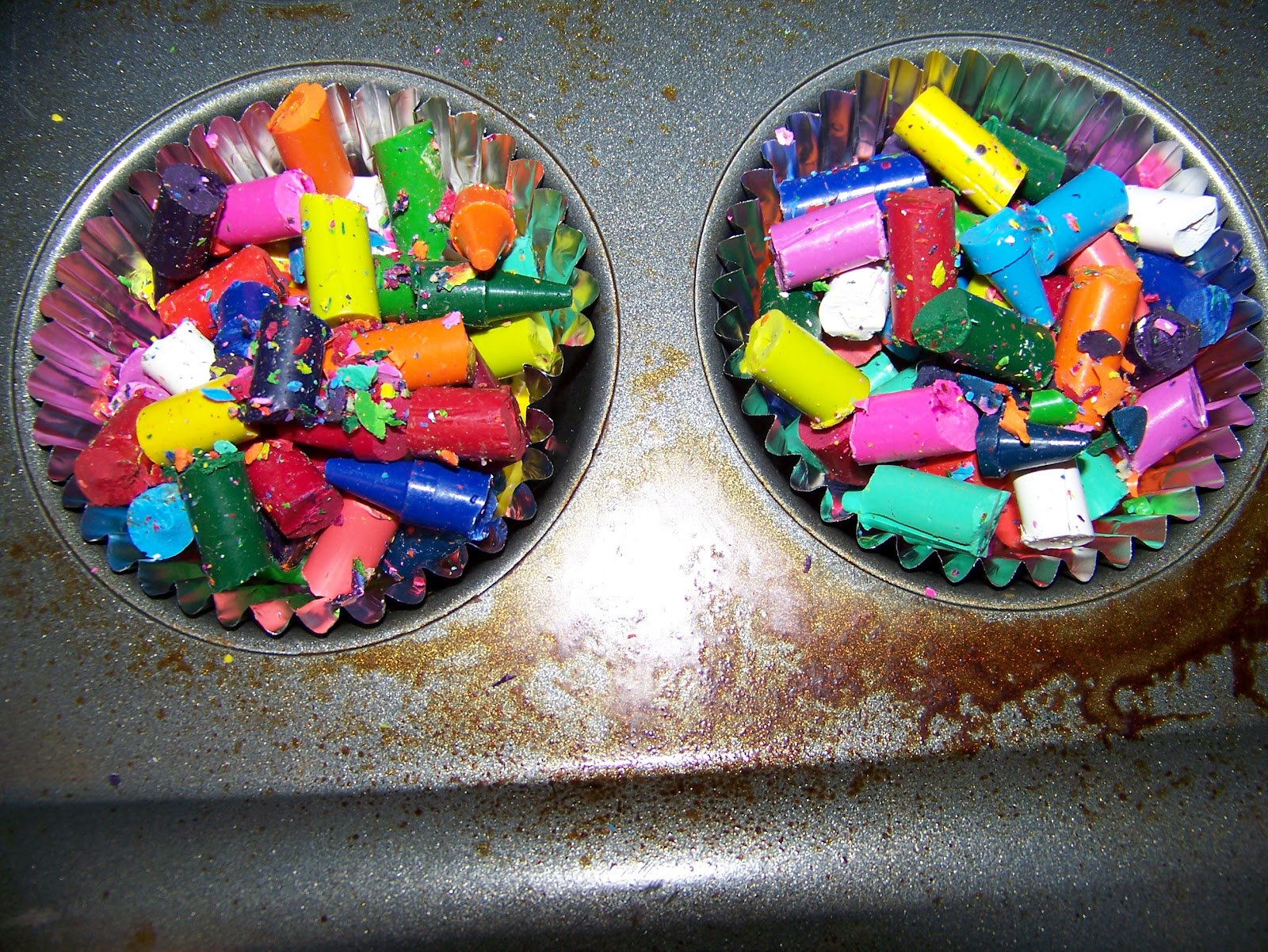 how to clean crayon off plastic