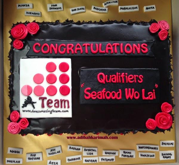 Awesomazing Team meraikan pemenang seafood wo lai